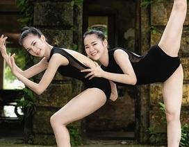 Bộ ảnh thiếu nữ múa ballet trong toà viện cổ thu hút dân mạng