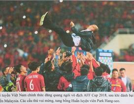 Chiến thắng của đội tuyển bóng đá Việt Nam vào đề thi Năng khiếu Ảnh báo chí 2019