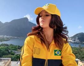 Kiều nữ bị bắt giữ vì muốn thoát y ăn mừng Brazil vô địch Copa America