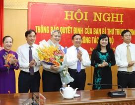 Ông Trần Tiến Hưng chính thức nhận nhiệm vụ Phó Bí thư Tỉnh ủy Hà Tĩnh
