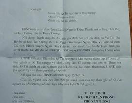 Vụ mua đất gần 30 năm bất ngờ bị tranh chấp: UBND tỉnh Nghệ An chỉ đạo xử lý