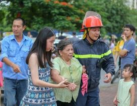 Hỏa hoạn tại chung cư tái định cư ở Hà Nội
