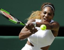 Serena Williams lần thứ 11 vào chung kết Wimbledon