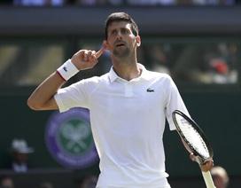 Djokovic lần thứ 6 vào chung kết Wimbledon