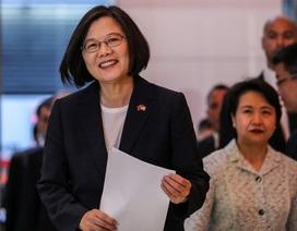 Lãnh đạo Đài Loan quá cảnh ở Mỹ 4 ngày
