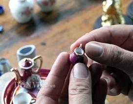 Bộ sưu tập gốm: bình trà, ly, tách,...siêu tí hon độc nhất miền Tây