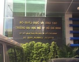Hơn 2.400 thí sinh đầu tiên trúng tuyển ĐH Mở TPHCM