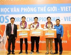 Cuộc thi MOSWC và chặng đường 10 năm hiện thực hóa khát vọng nâng cao chất lượng nhân lực Việt
