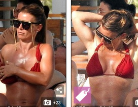 Bà mẹ bốn con Coleen Rooney diện bikini gợi cảm