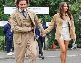 Brooklyn Beckham đưa bạn gái đi xem tennis