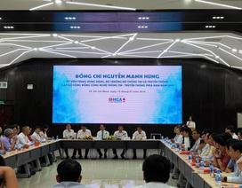 """Bộ trưởng Bộ TT&TT: """"Sứ mệnh Việt Nam hùng cường đặt lên vai các doanh nghiệp CNTT"""""""
