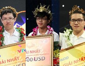 3 nhà vô địch Olympia có điểm thi THPT thừa sức đỗ ĐH tốp đầu