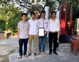 Thủ khoa khối A toàn quốc nhận học bổng tài năng của ĐH Bách khoa Hà Nội