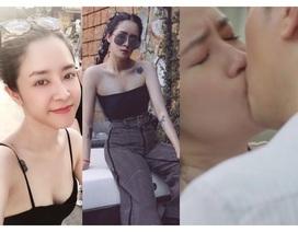 """Nhan sắc vợ """"ông trùm tỷ phú"""" lén lút hôn Việt Anh trong """"Mê cung"""""""