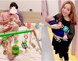 Ca sĩ Minh Chuyên lần đầu hé lộ hình ảnh bố của con trai