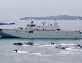 Úc ứng phó chiến lược biển của Trung Quốc
