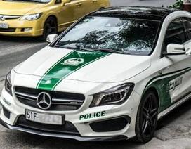 Xe sang bị từ chối đăng kiểm vì tự ý dán logo cảnh sát Dubai
