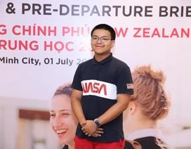 Nam sinh Việt 16 tuổi xuất sắc nhận học bổng Chính phủ New Zealand