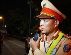 Hé lộ về camera mini tự động phát hiện vi phạm gắn trên ngực áo CSGT