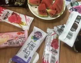 """""""Hoảng hốt"""" khi xem tiêu hủy kem: Chính là loại kem Trung Quốc vừa ăn"""