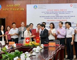 Thụy Sỹ tài trợ 365.000 Franc cho Việt Nam làm dự án thông tin viễn thám cây lúa