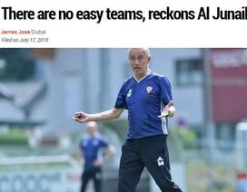 Báo Tây Á lo cho UAE khi đối diện với tuyển Việt Nam