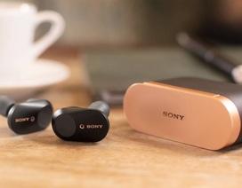 Sony trình làng tai nghe không dây chống ồn siêu nhỏ, giá 5,3 triệu đồng