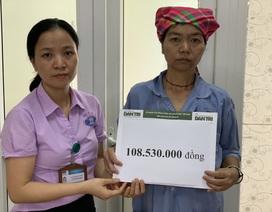 Bạn đọc Dân trí giúp đỡ người phụ nữ 8 năm chống chọi bệnh tim gần 109 triệu đồng