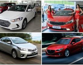 Giá phí trước bạ mới, nhiều mẫu xe giảm giá cả chục triệu đồng