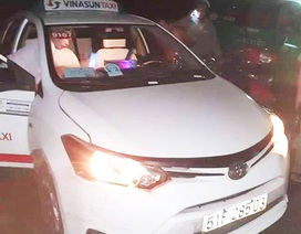 Nghi án tài xế taxi bị hành khách cứa cổ trong đêm