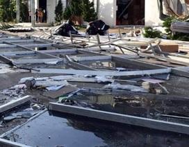 Thanh Hoá: Nhà xưởng đổ sập vì giông lốc, hơn 1.600 công nhân nghỉ làm