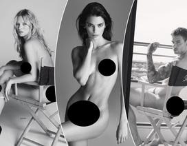 Hàng loạt ngôi sao chụp hình khỏa thân với nhiếp ảnh gia danh tiếng