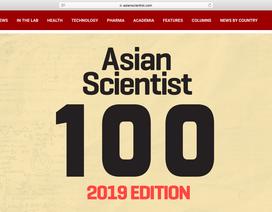 Hai nhà khoa học Việt Nam lọt top 100 nhà khoa học tiêu biểu châu Á 2019