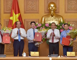 Công bố quyết định Thủ tướng Chính phủ về công tác cán bộ