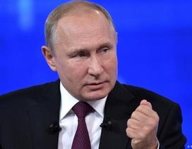 """Tổng thống Putin lên tiếng khi Mỹ - Iran """"căng như dây đàn"""""""