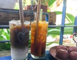 """Nhiều quán cà phê Đà Nẵng """"khai tử"""" ống hút nhựa"""