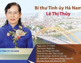 Chân dung tân Bí thư Tỉnh ủy Hà Nam Lê Thị Thủy