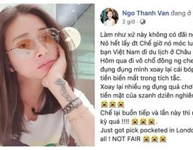 Ngô Thanh Vân bị móc ví, điện thoại và thẻ ngân hàng ở London