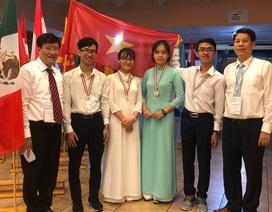 Olympic Sinh học quốc tế 2019: Việt Nam đoạt 1 Huy chương Bạc và 3 huy chương Đồng