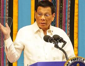 Ông Duterte nói cho tàu Trung Quốc đánh bắt ở biển Philippines để ngăn chiến tranh