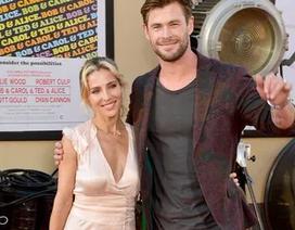 Chris Hemsworth đẹp đôi bên vợ hơn 7 tuổi