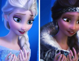 Khi các nàng công chúa Disney không còn phân biệt màu da, sắc tộc