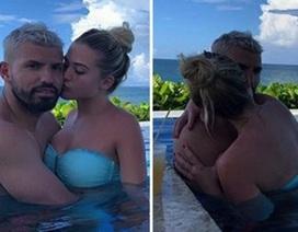 Sergio Aguero tận hưởng mùa hè rực lửa bên cô bạn gái xinh đẹp