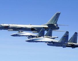 Trung Quốc đưa máy bay chiến đấu Su-35 diễn tập tại Biển Đông