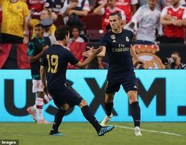 """Gareth Bale ghi bàn, Real Madrid thắng Arsenal trên loạt """"đấu súng"""""""