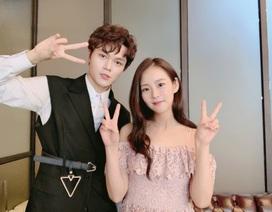 Tham dự Chung kết Produce X 101, Cường Jin chụp ảnh thân thiết với cựu thành viên KARA