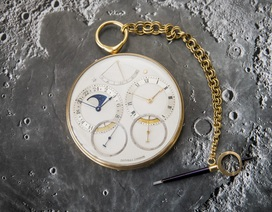 Kỷ lục: Chiếc đồng hồ đắt nhất thế giới có giá hơn 106 tỷ đồng