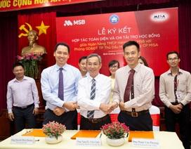 MSB cung cấp giải pháp thanh toán tiện ích trong lĩnh vực giáo dục