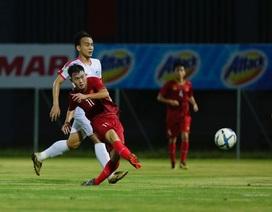 Khoảng cách trình độ giữa các cầu thủ U22 Việt Nam