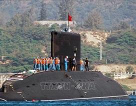 """Cận cảnh 6 """"Hố đen đại dương"""" thuộc Lữ đoàn Tàu ngầm của Hải quân Việt Nam"""